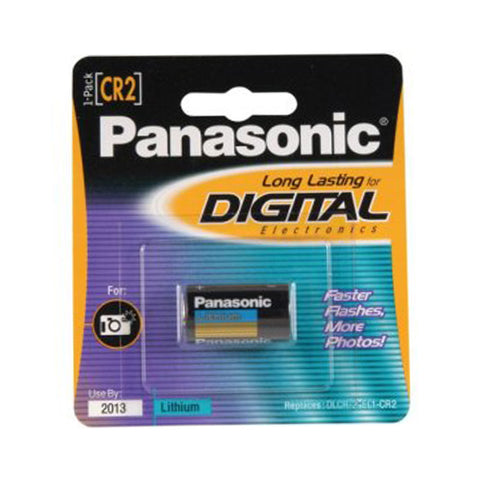 Panasonic 3V Digital Lithium Battery (P-CR2)