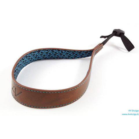 4V Design Ergo Handmade Leather Wrist Strap