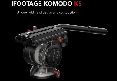 iFootage Komodo K5 Lightweight Fluid Head