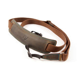 4V Design Lusso Large Leather Camera Strap