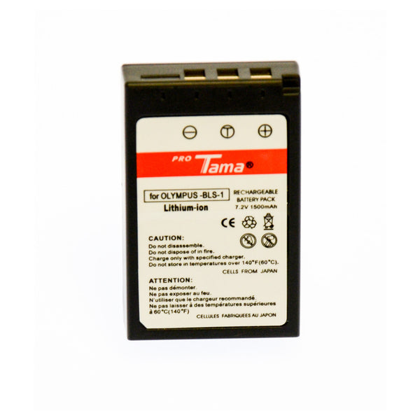 ProTama Li-Ion Rechargable Battery for Olympus