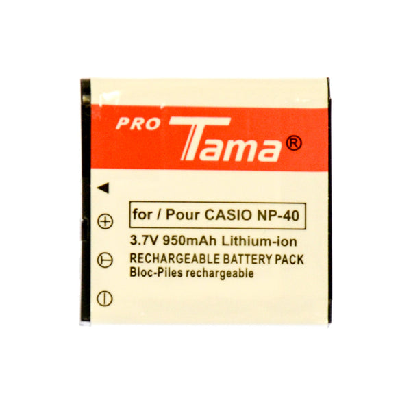 ProTama Li-Ion Rechargable Battery for Casio