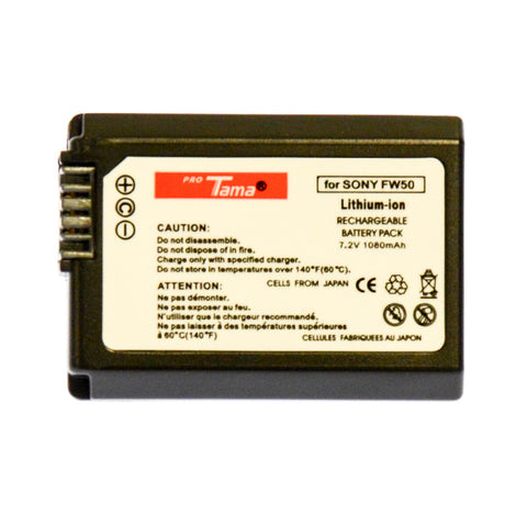 ProTama Li-Ion Rechargable Battery for Sony