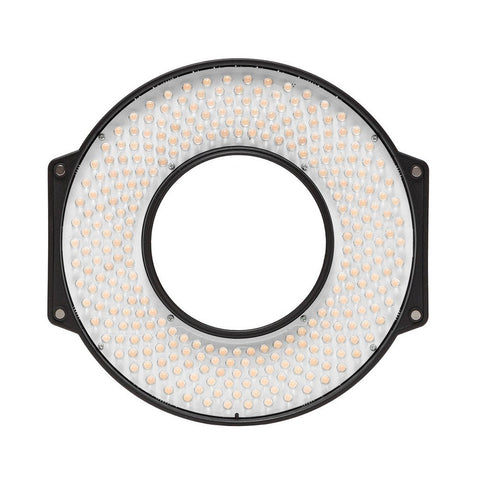 F&V R-300 LED Ring Light w/ 15mm Rod Mount Kit