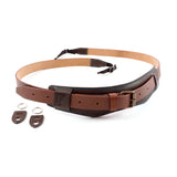 4V Design Sella Leather Neck Strap
