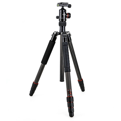 Fotopro X-5CN Carbon Fiber Compact and Lightweight Tripod