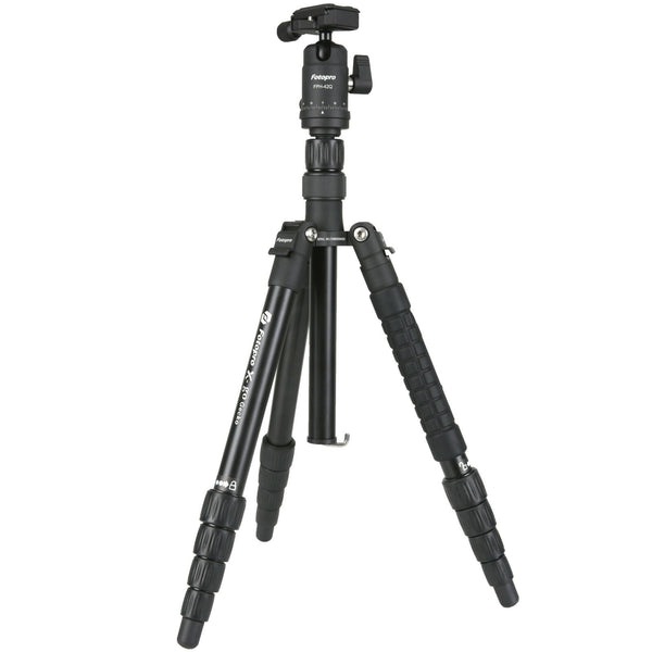 Fotopro X-GO Gecko Folding Monopod/Tripod with FPH-42Q Ball Head (Black)