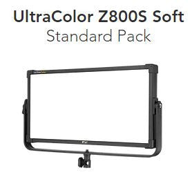 F&V UltraColor Z800S Soft 2×1 LED panel