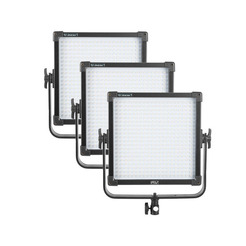 F&V Ultracolor K4000 Plus LED Studio Panel - 3pc Kit