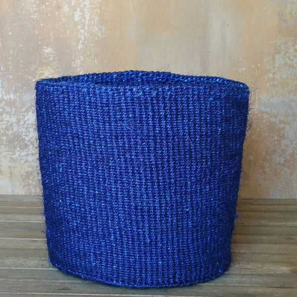 Single Colour Sisal Basket: S