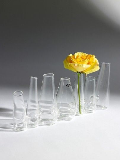 Glass Chain Vase: Tall