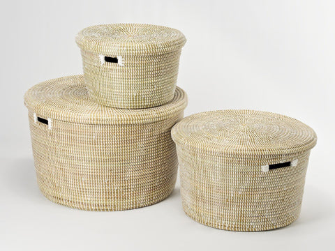 Artisanne Round Storage Basket: Small