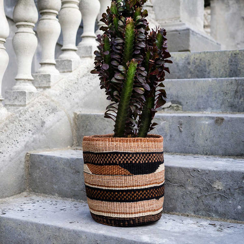 Tribal Sisal Baskets