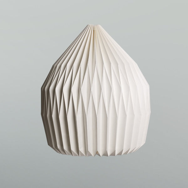 Paper Lampshade: Natural Pear