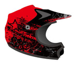 Youth Motocross Helmets Red