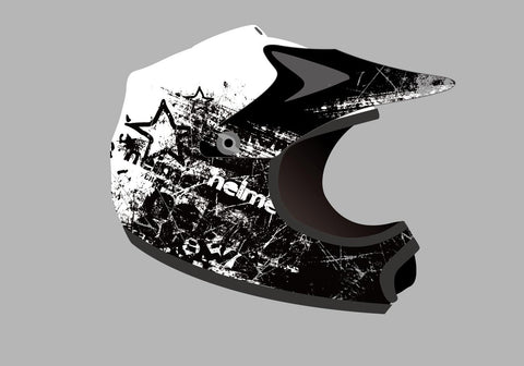 Youth Motocross Helmets White