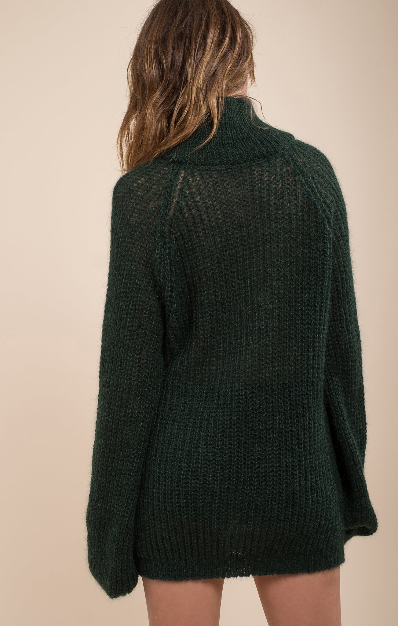 COCOON SLEEVE SWEATER