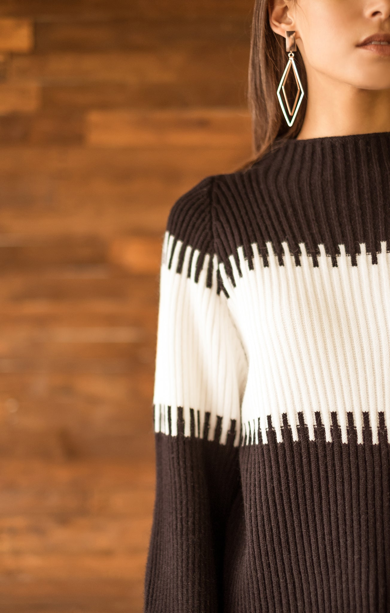 COCOON SLEEVES SWEATER