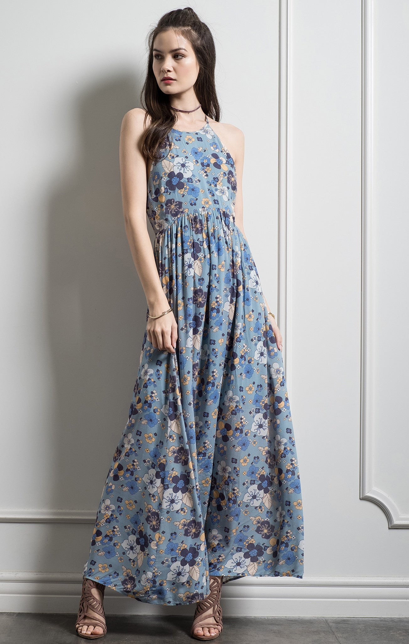 2c359aae537 FLORAL BACK TIE MAXI DRESS – Moon River