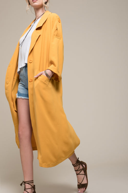 RELAXED LONG BLAZER