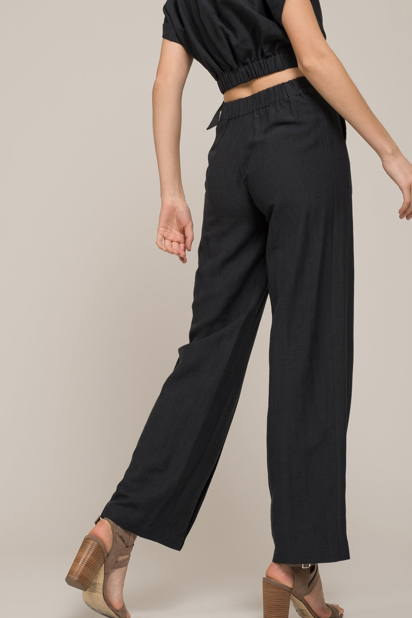 STRAIGHT LEG PANT WITH POCKETS