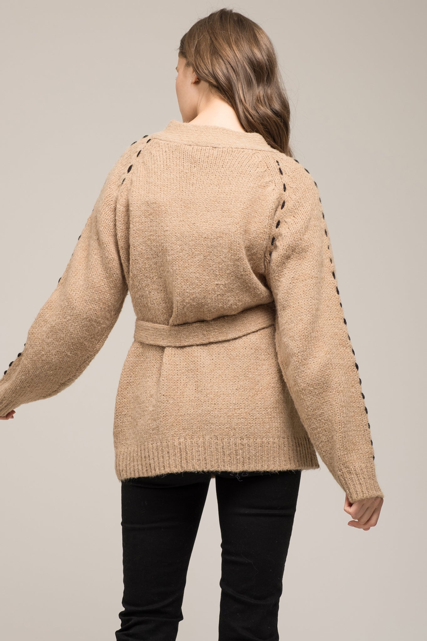 CARDIGAN WITH ARM DETAIL