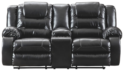 Valerie Reclining Loveseat with Console