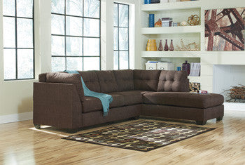 Jennifer 2 Pc. Sectional RAF Chaise/LAF Sofa