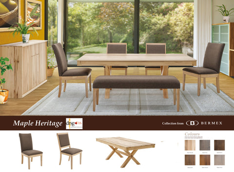 Maple Heritage Natural 5 Pc. Dining Room