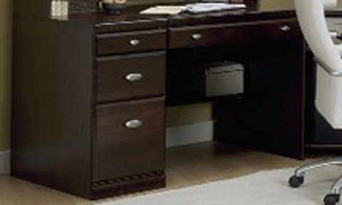 Worksite Single Pedestal Desk
