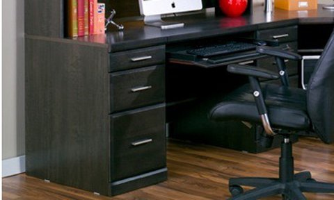 Worksite Double Pedestal Desk