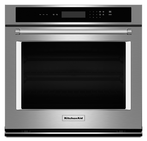 "KitchenAid 27"" Single Wall Oven with Even-Heat™ Thermal Bake/Broil"