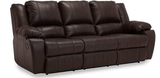 Mira Power Reclining Sofa W/ Table