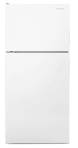 Amana® 16 cu. ft. Top-Freezer Refrigerator with More Storage Capacity