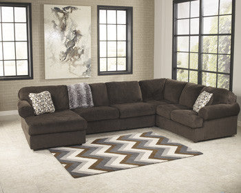 Brenda III 3 Pc. Sectional LAF Chaise/Armless Love/RAF Sofa