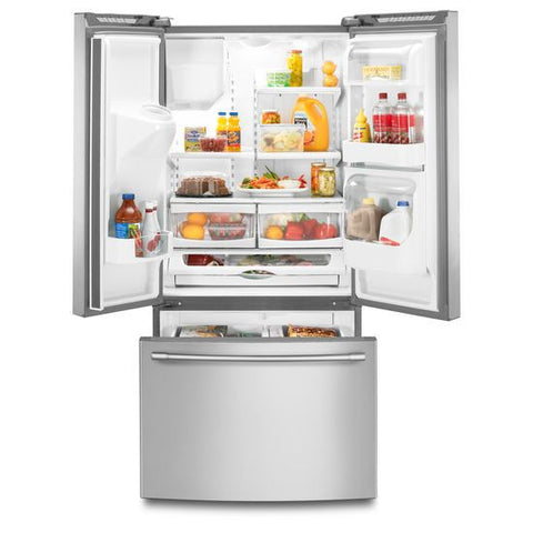 Maytag 33 Wide French Door Refrigerator With Beverage Chiller