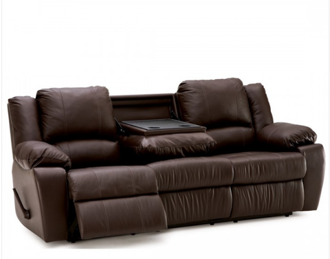 Mira Reclining Sofa W/ Drop Table