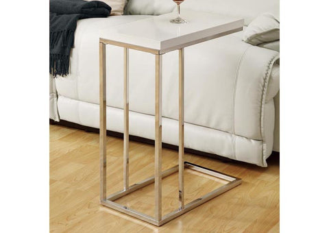 Laminate/Chrome Accent Table