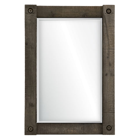 Garrett Weathered Finish Mirror