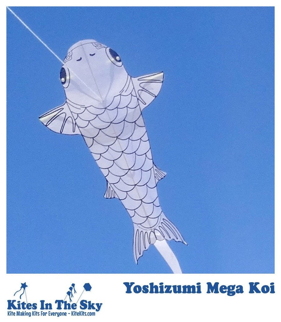 Yoshizumi Mega Koi Paper Kites That Really Fly In The Sky Project Kit Available Order Your Supplies When Our Current Inventory Is Sold These Will No Longer Be If You Want For Now Are Limited