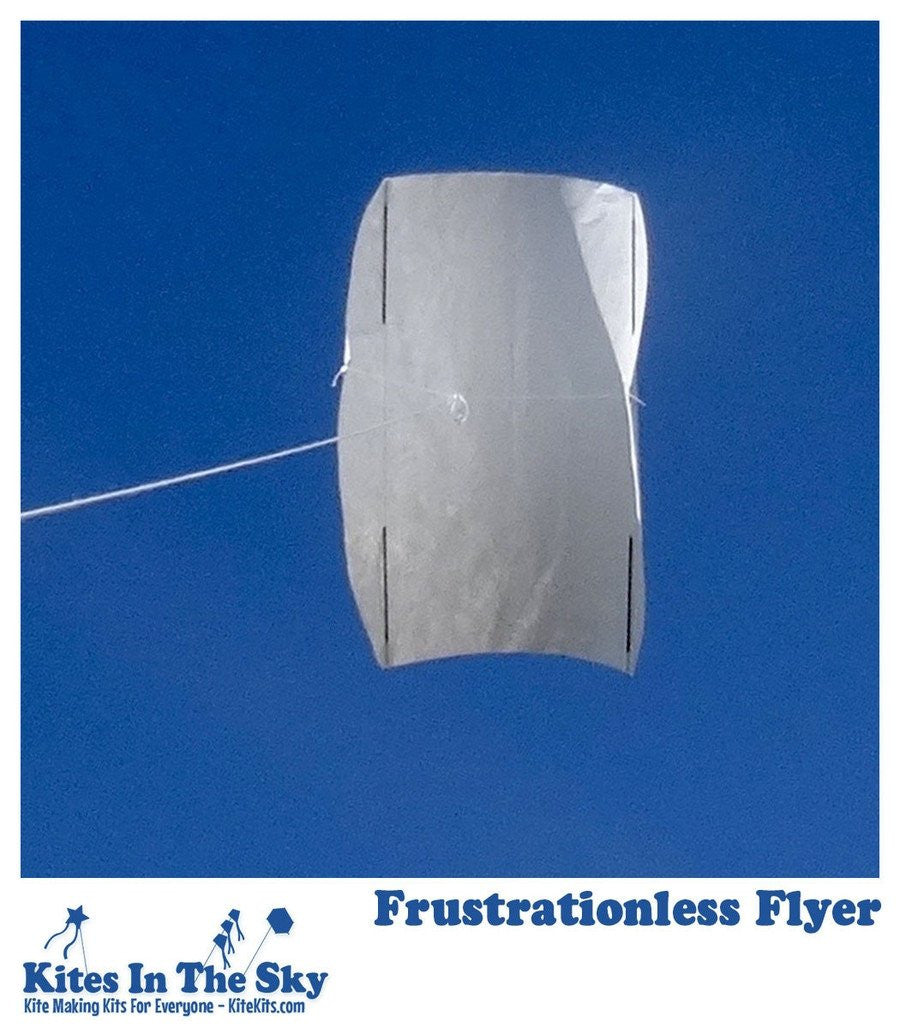 Beginner Kite Kit - Frustrationless Flyer DIY Kite Kit