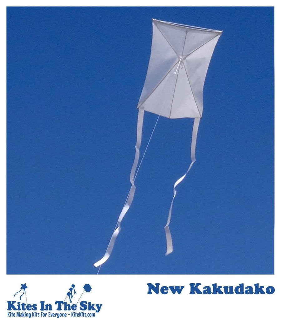 Beginner Kite Kit - New Kakudako DIY Kite Kit (10 Pk)