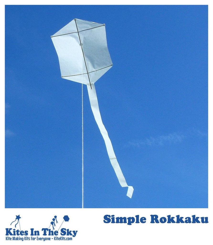 Simple Rokkaku DIY Kite Kit (10 pk)