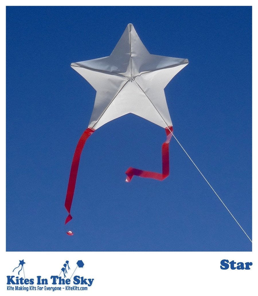 Star DIY Kite Kit (10 pk) - Kites In The Sky