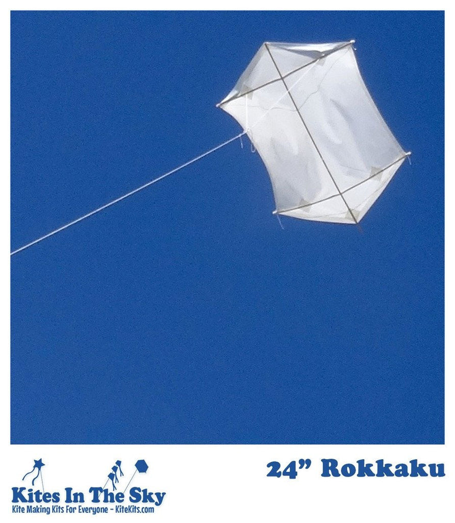 "24"" Rokkaku DIY Kite Kit (10 pk)"