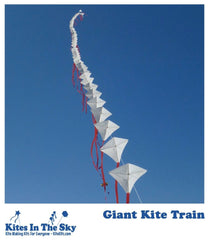 Intermediate Kite Kit - Giant Kite Train DIY Kite Kit (60 Sails)