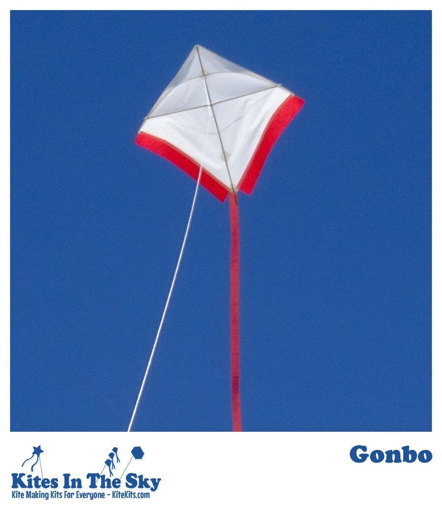Intermediate Kite Kit - Gonbo Kite DIY Kite Kit (10 Pk)