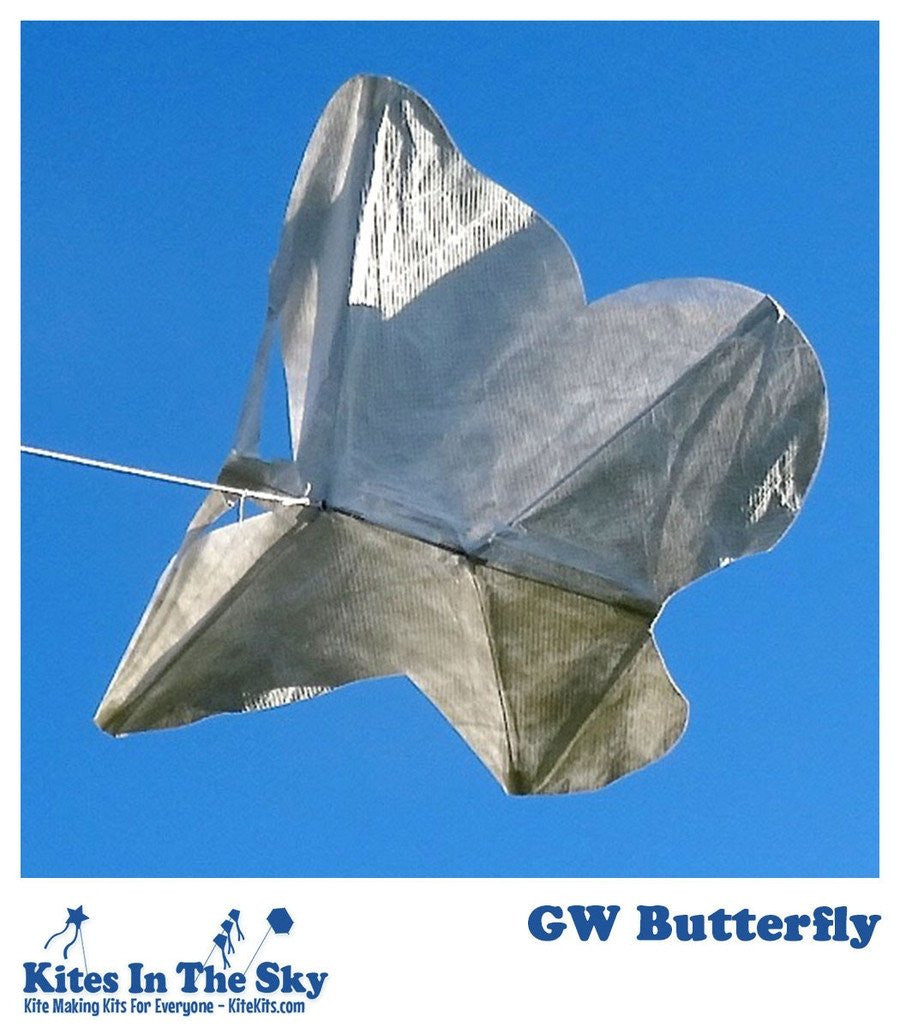 GW Butterfly DIY Kite Kit - Kites In The Sky