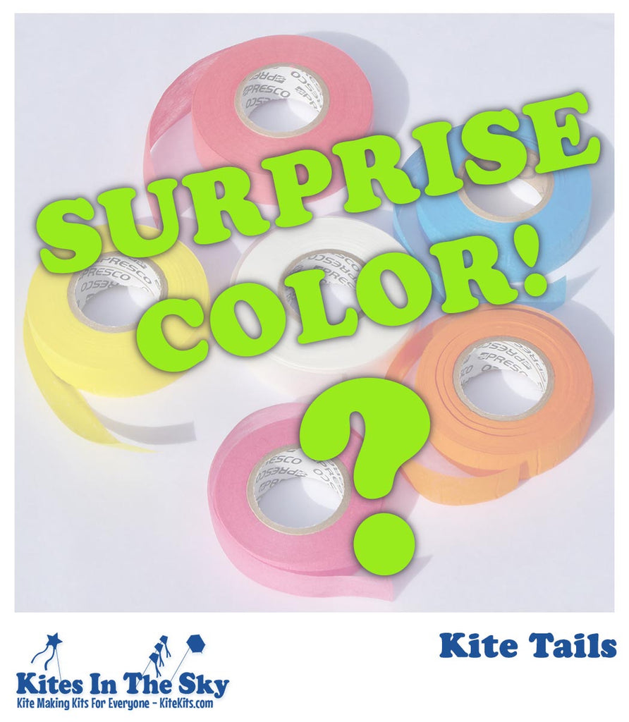 Kite Tail - Surprise Color - Kites In The Sky