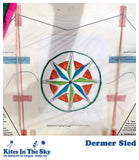 Dermer Sled DIY Kite Kit (1-500 pk) - Kites In The Sky